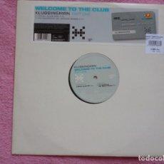 Discos de vinilo: WELCOME TO THE CLUB,KLUBBINGMAN PART ONE. Lote 177460582