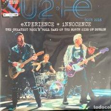 Discos de vinilo: U2 - THE GREATEST ROCK'N'ROLL BAND OF THE NORTH SIDE OF DUBLIN - 3 LP, ED.LIMITADA, VINILOS AZULES. Lote 177461274