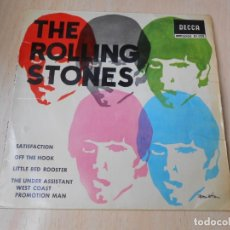 Discos de vinilo: ROLLING STONES, THE, EP, OFF THE HOOK + 3, AÑO 1965. Lote 177461359
