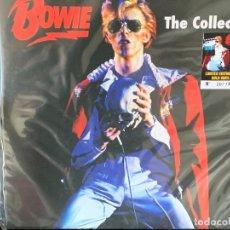 Discos de vinilo: DAVID BOWIE - THE COLLECTOR - 1 LP ED. LIMITADA, VINILO COLOR ORO. Lote 177464702