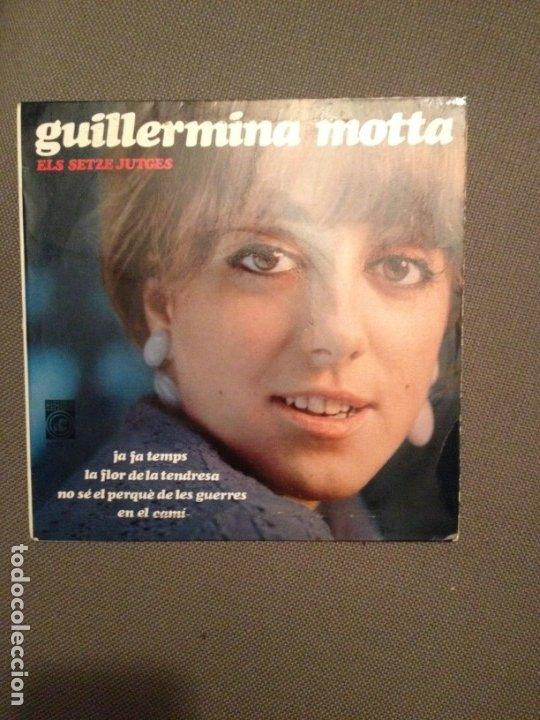 GUILLERMINA MOTTA: ELS SETZE JUTGES JA FA TEMPS + 3 CONCENTRIC PROMOCIONAL,FRANCESC BURRULL, MASPONS (Música - Discos de Vinilo - EPs - Solistas Españoles de los 50 y 60)