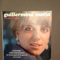Discos de vinilo: GUILLERMINA MOTTA: ELS SETZE JUTGES JA FA TEMPS + 3 CONCENTRIC PROMOCIONAL,FRANCESC BURRULL, MASPONS. Lote 177466742