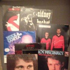 Discos de vinilo: LOTE 7 DISCOS SIDNEY BECHET, NIKKA COSTA, NINA & FREDERIK,BOBBY VINTON,RAPHAEL,BSO GHOSTBUSTERS +1. Lote 177468457
