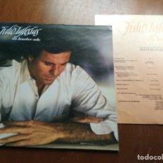Discos de vinilo: JULIO IGLESIAS - UN HOMBRE SOLO - LP - - CBS - 1987. Lote 177470272