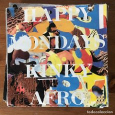 Discos de vinilo: HAPPY MONDAYS - KINKY AFRO (RADIO MIX) - SINGLE LONDON ALEMANIA 1990. Lote 177473119