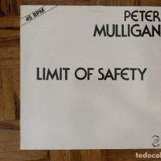 Discos de vinilo: PETER MULLIGAN – LIMIT OF SAFETY SELLO: ATROPA RECORDS – ATR 410420 FORMATO: VINYL, 12 , ONE SIDE. Lote 177474858