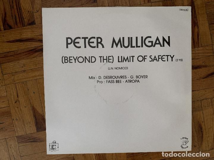Discos de vinilo: Peter Mulligan – Limit Of Safety Sello: Atropa Records – ATR 410420 Formato: Vinyl, 12 , One Side - Foto 2 - 177474858