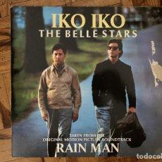 Discos de vinilo: THE BELLE STARS – IKO IKO GÉNERO: ELECTRONIC ESTILO: BREAKS, SYNTH-POP AÑO: 1988. Lote 177475153