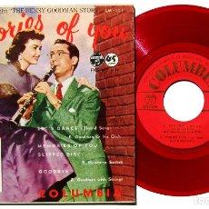 Discos de vinilo: BENNY GOODMAN - MEMORIES OF YOU - EP COLUMBIA JAPAN 1956 ROJO (EDICIÓN JAPONESA) BPY. Lote 177482258
