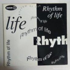 Discos de vinilo: MAXI SINGLE DISCO VINILO ZUUM RHYTHM OF LIFE. Lote 177499082