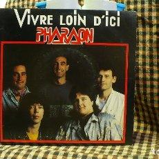 Discos de vinilo: PHARAON -- VIVRE LOIN D'ICI / VIVRE LOIN D'ICI INSTRUMENTAL, FAC PRODUCTIONS 1990.. Lote 177503174