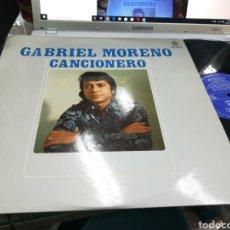 Discos de vinilo: GABRIEL MORENO LP CANCIÓNERO 1976. Lote 177504680