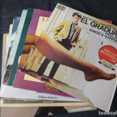 Discos de vinilo: LOTE DE 8 LP'S VINILOS DE BANDAS SONORAS. Lote 177505784