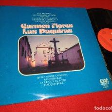 Discos de vinilo: CARMEN FLORES LAS PAQUIRAS LP 1975 GRAMUSIC. Lote 177509365