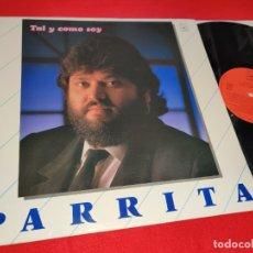 Dischi in vinile: PARRITA TAL Y COMO SOY LP 1988 HORUS. Lote 177509685