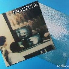 Discos de vinilo: GRAUZONE, UNICO LP DEL GRUPO SUIZO DEL MISMO NOMBRE, ELECTROLA 1C 064-46-800 1981 ALEMANIA, RARO. Lote 177513805