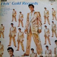 Discos de vinilo: ELVIS PRESLEY ELVIS' GOLD RECORDS VOLUME 2 LP . ROCKABILLY CARL PERKINS COCHRAN. Lote 177517202