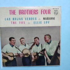 Dischi in vinile: EP ESPAÑOL - THE BROTHERS FOUR - LAS HOJAS VERDES. Lote 177523222