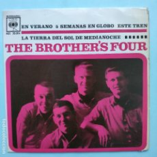 Dischi in vinile: EP ESPAÑOL - THE BROTHERS FOUR - SUMMERTIME. Lote 177523250
