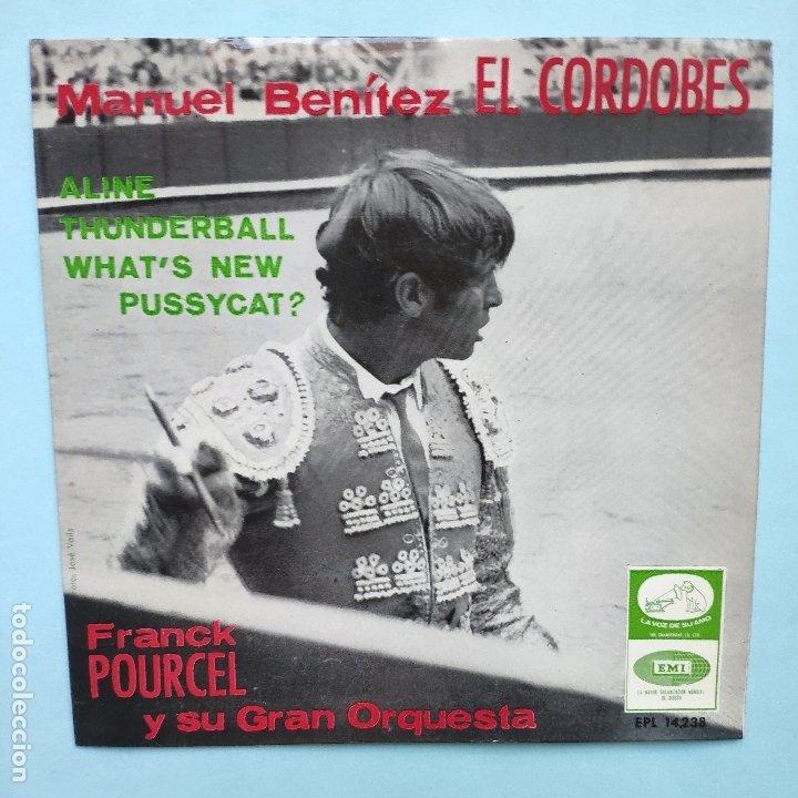 EP ESPAÑOL - FRANCK POURCEL - THUNDERBALL (Música - Discos de Vinilo - EPs - Otros estilos)