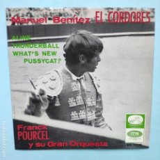 Discos de vinilo: EP ESPAÑOL - FRANCK POURCEL - THUNDERBALL. Lote 236861240