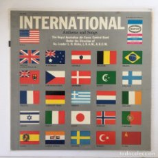 Discos de vinilo: LP - INTERNATIONAL ANTHEMS AND SONGS. Lote 177525455