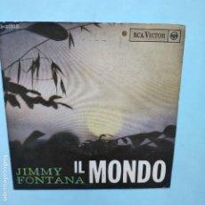 Dischi in vinile: EP ESPAÑOL - JIMMY FONTANA - IL MONDO. Lote 177525892
