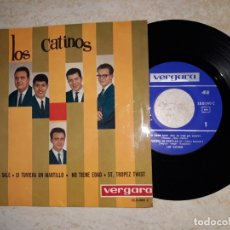 Discos de vinilo: LOS CATINOS.SAPORE DI SALE. 1964. Lote 177546222