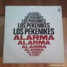 Discos de vinilo: LP - LOS PEKENIKES - ALARMA (1969). Lote 177554812
