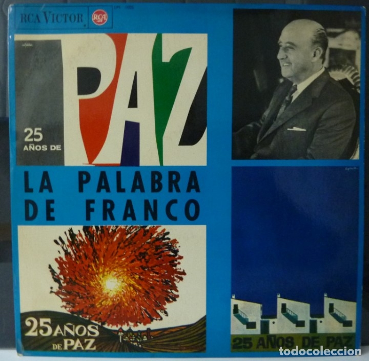 LA PALABRA DE FRANCO//25 AÑOS DE PAZ//1964//(VG VG). LP (Música - Discos - LP Vinilo - Otros estilos)