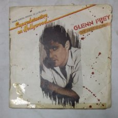 Discos de vinil: GLENN FREY - SUPERDETECTIVE EN HOLLYWOOD - THE HEAT IS ON / SHOOT OUT. SINGLE. TDKDS19. Lote 177561223