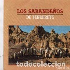 Discos de vinilo: LOS SABANDEÑOS- DE TENDERETE - 12 SINGLE - AÑO 1983. Lote 177564599