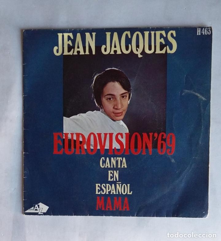 JEAN JACQUES - EUROVISIÓN 69 - CANTA EN ESPAÑOL - MAMA - SINGLE. TDKDS19 (Música - Discos - Singles Vinilo - Festival de Eurovisión)