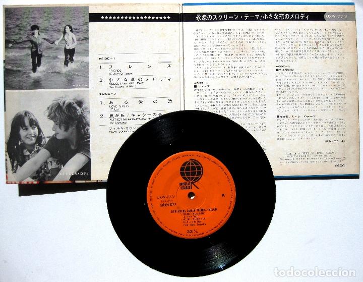 Discos de vinilo: Film Sound Orchestra - Melody - EP Overseas Records 1971 Japan (edición Japonesa) BPY - Foto 3 - 177574892