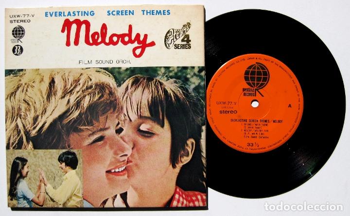 FILM SOUND ORCHESTRA - MELODY - EP OVERSEAS RECORDS 1971 JAPAN (EDICIÓN JAPONESA) BPY (Música - Discos de Vinilo - EPs - Bandas Sonoras y Actores)