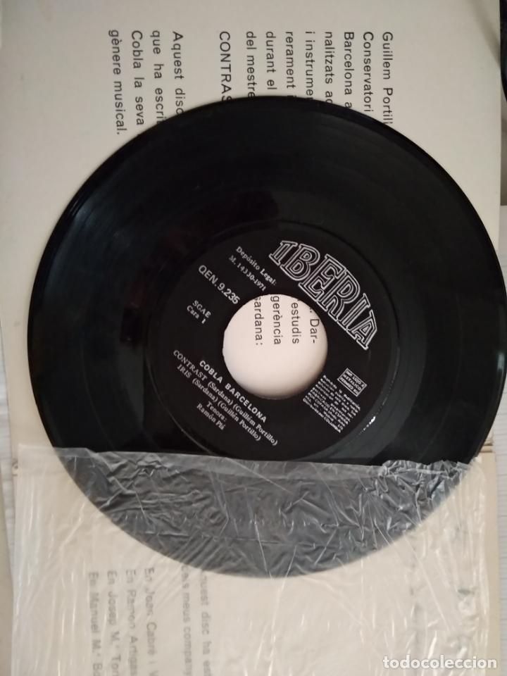 Discos de vinilo: COBLA BARCELONA - SARDANES CONTRAST - GUILLEM PORTILLO - Foto 2 - 177575519