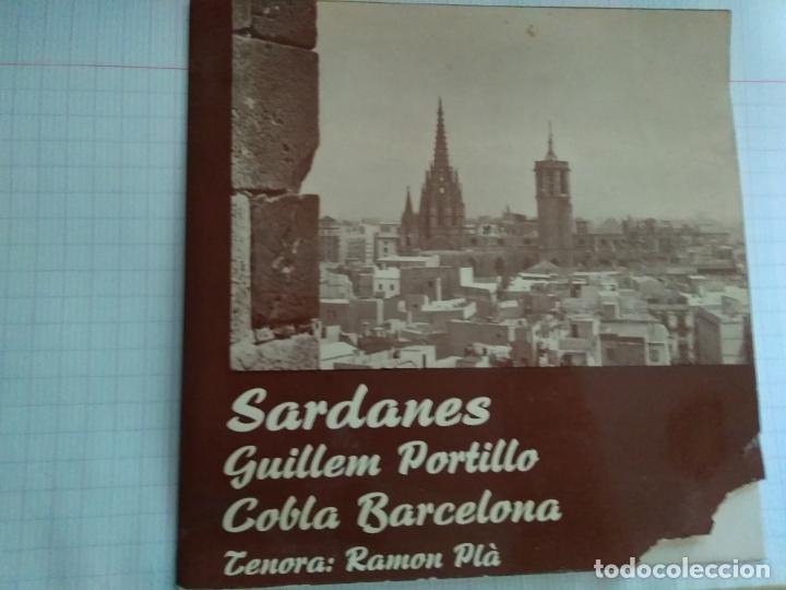 COBLA BARCELONA - SARDANES CONTRAST - GUILLEM PORTILLO (Música - Discos - Singles Vinilo - Orquestas)