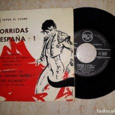 Discos de vinilo: CORRIDAS DE ESPAÑA 1 .PASO-DOBLES POR BANDA GENARO NUÑEZ. Lote 177584554
