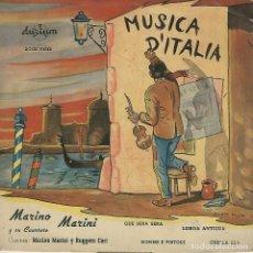 Discos de vinilo: MARINO MARINI Y SU CUARTETO. Lote 177589009