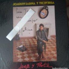 Discos de vinilo: JOAQUIN SABINA: JUEZ Y PARTE, FIRMADO. Lote 177589927
