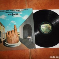 Discos de vinilo: BADFINGER MAGIC CHRISTIAN MUSIC LP VINILO 1970 ARGENTINA MONO APPLE THE BEATLES MUY RARO. Lote 177601430