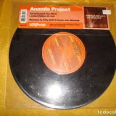 Discos de vinilo: ANANDA PROJECT. BAHIA / EXPAND YOUR MIND. NITE GROOVES, 2001. LIMITED EDITION, 10 PULGADAS. Lote 177601444