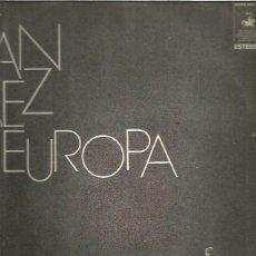 Discos de vinilo: JOAN BAEZ EN EUROPA. Lote 177603888