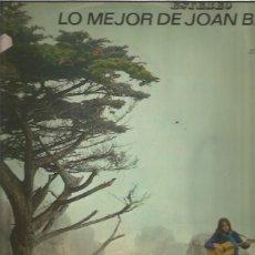 Discos de vinilo: JOAN BAEZ LO MEJOR. Lote 177603988