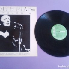 Discos de vinilo: RARO .LP - EDITH PIAF - ANTOLOGIA ( SPAIN, NL 37759 RCA RECORDS 1983 ) LINEA TRES.. Lote 177607280