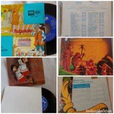 Discos de vinilo: 3 SINGLE, 2 DE VILLANCICOS Y 1 DE CUENTOS. Lote 177610245