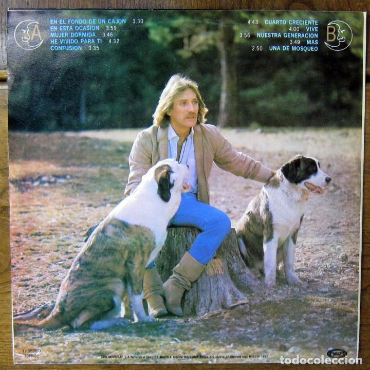Discos de vinilo: PABLO ABRAIRA - CUARTO CRECIENTE - 1983 - EDICIÓN NO OFICIAL CUBANA - CUBA, EGREM, AUDI - Foto 2 - 177611250