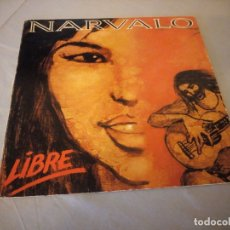 Discos de vinilo: NARVALO – LIBRE,1990. Lote 177613329