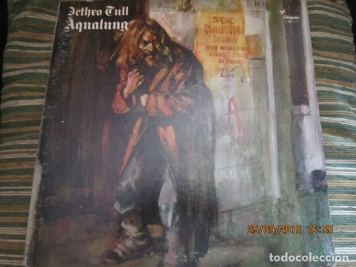 JETHRO TULL - AQUALUNG LP - EDICION U.S.A. CHRYSALIS RECORDS 1973 - GATEFOLD COVER (GREEN LABEL) (Música - Discos - LP Vinilo - Pop - Rock - Extranjero de los 70)