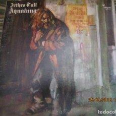 Discos de vinilo: JETHRO TULL - AQUALUNG LP - EDICION U.S.A. CHRYSALIS RECORDS 1973 - GATEFOLD COVER (GREEN LABEL). Lote 177614505